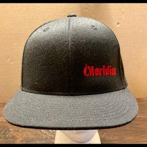 Meridian Skateboard Black Hat 6 7/8-7 1/4 (Fitted)